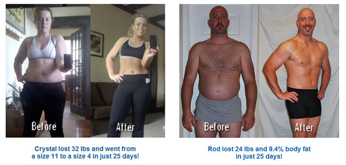 xtreme weight loss results